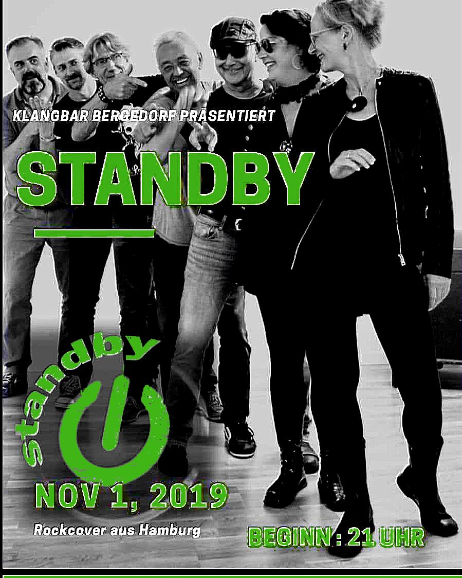 standby plakat grün